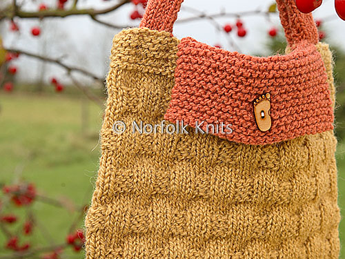 Child's Basketweave handbag