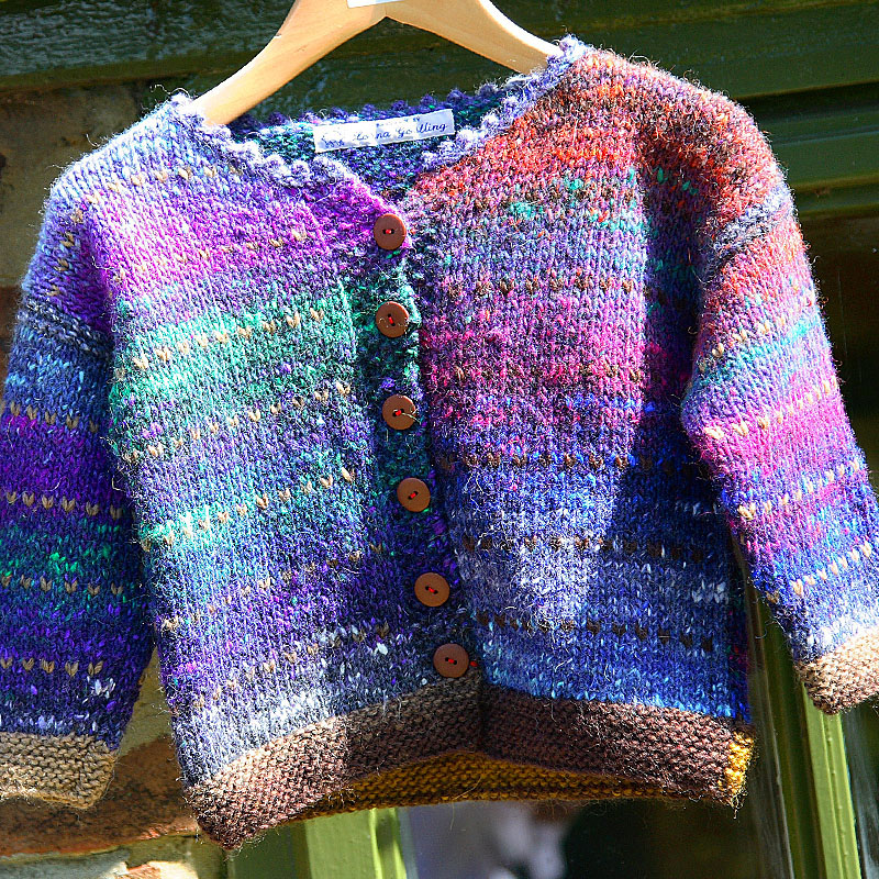 Norfolk Knits child's cardigan