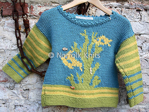 Seaweed Child's Jumper
