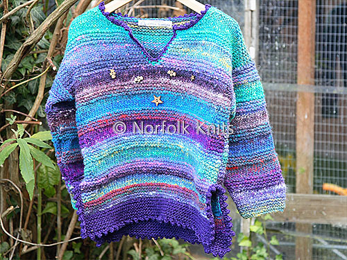 Noro Child's Tunic