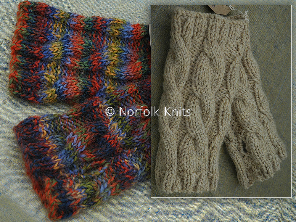 Norfolk Knits Adult's Wrist Warmers