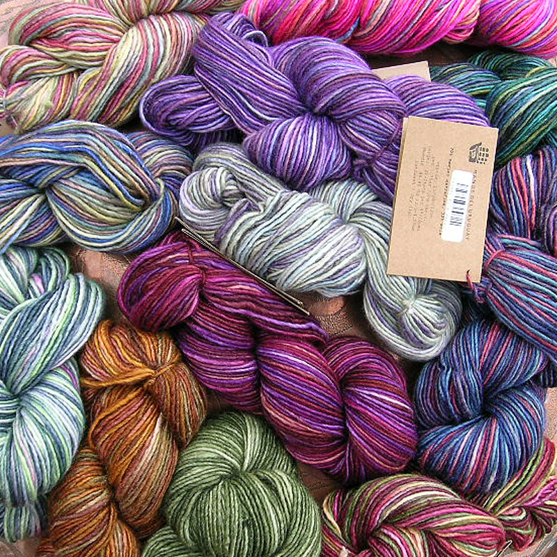 Norfolk Knits yarn selection